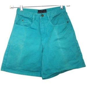 Vintage High Waist NY Line Womens Sz Small Shorts
